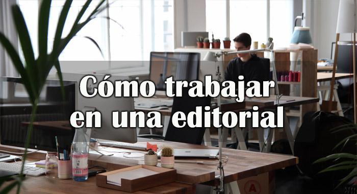 Trabajar en una editorial