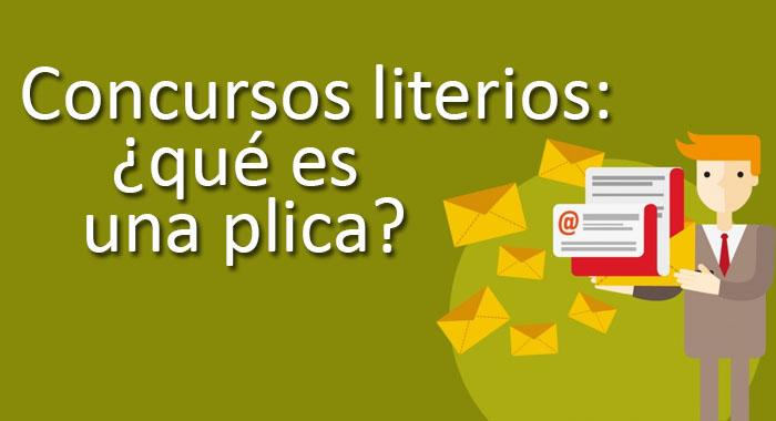 Concursos literarios: qué es una plica
