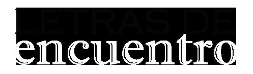 Logo Letras de encuentro