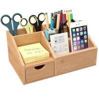 Organizador de escritorio bambu