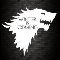 Adhesivo Winter is coming