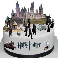 Tarta fiesta cumpleaños Harry Potter