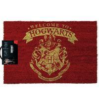 Felpudo bienvenido a Hogwarts