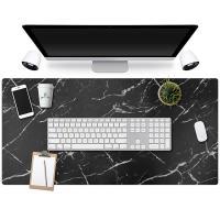 Alfombrilla para escritorio estilo mármol