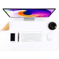 Alfombrilla escritorio blanca