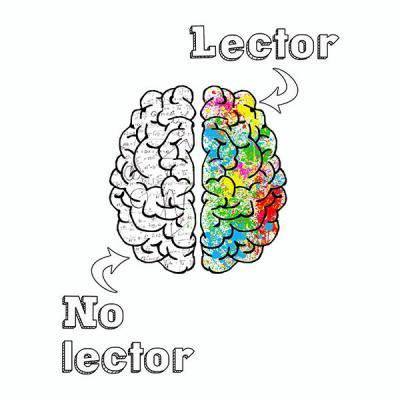 Camiseta cerebro lector