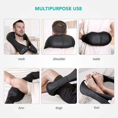 Como funciona masajeador de cuello y espalda