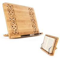 Atril de madera para libros