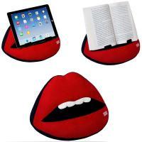 Cojín apoya libros con forma de boca