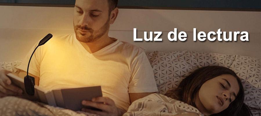 Luz para leer en la cama