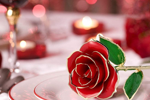 Rosa eterna Sant Jordi