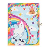 Cuadernos marcados con unicornios