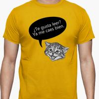 Camiseta para un lector