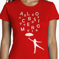 Camiseta para escritora