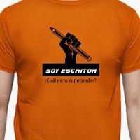 Camiseta para un escritor