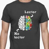Camiseta para lectores