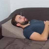 Cojin lectura cama hierro