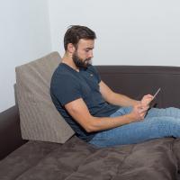 Almohada leer cama y sofá