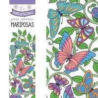Marcapaginas colorear mariposas