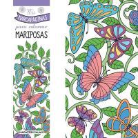 Marcapaginas colorear mariposas