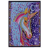 Cuaderno forrado de unicornio