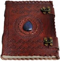 Cuaderno de cuero celta