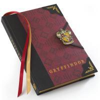Libreta Harry Potter borde dorado