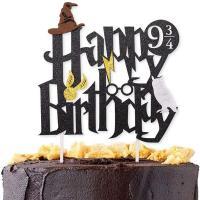 Decoración tarta cumpleaños Harry Potter