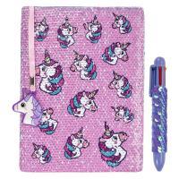 Cuadernos decorados unicornio