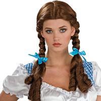 Disfraz de Dorothy con peluca