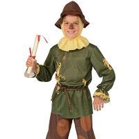 Disfraz espantapajaros Mago de Oz niño