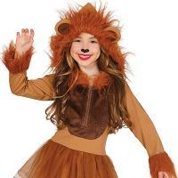Disfraz leon Mago de Oz niña