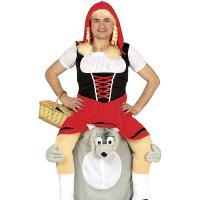 Disfraz para hombre Caperucita Roja y el Lobo