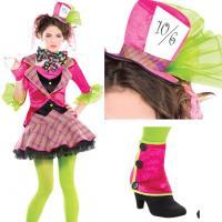 Disfraz Sombrerero Loco para niña