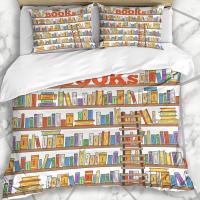 Edredon con libros