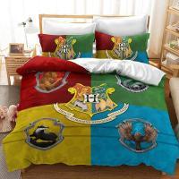 Cobertor Harry Potter escudo Hogwarts