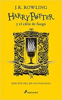 Edición especial Harry Potter y el caliz de fuego Huffelpuff