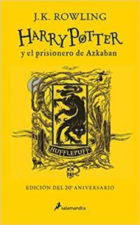 Edición especial Harry Potter y el prisionero de Azkaban Hufflepuff