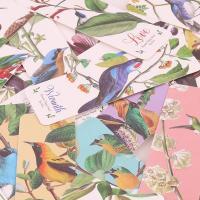 Elegante marcapáginas imantado de pájaros
