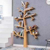 Estantería para libros con forma de árbol