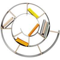 Estantería original para libros: espiral