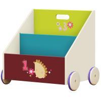 Estanteria libros niños ruedas