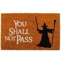 Felpudo You shall not pass