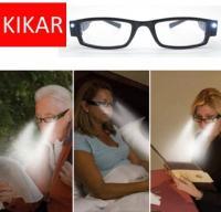 Gafas con luz para leer