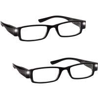 Gafas de lectura con luz pack de 2