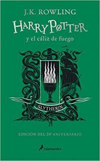 Edición especial Harry Potter y el caliz de fuego Slytherin