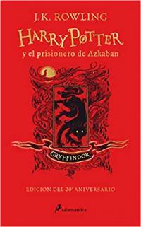 El prisionero de Azkaban 20 años Gryffindor