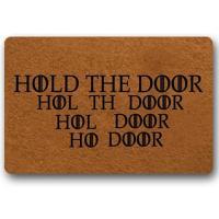 Felpudo hold the door