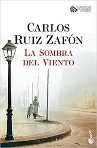 Portada La sombra del viento de Carlos Ruiz Zafón