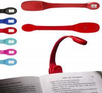 Lámpara de lectura flexible